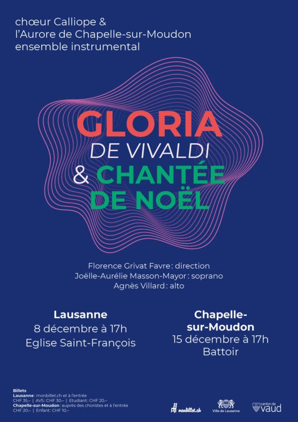 Affiche Gloria de Vivaldi