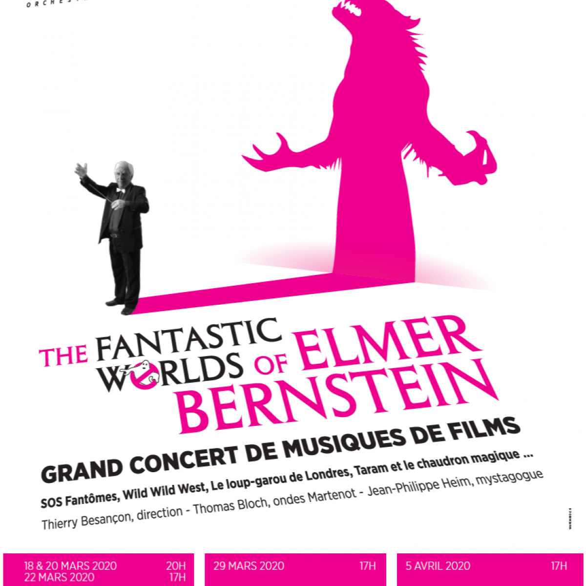 Affiche The Fantastic Worlds of Elmer Bernstein