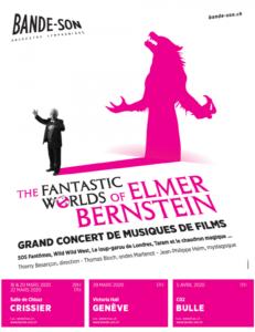 Affiche The Fantastic Worlds of Elmer Bernstein